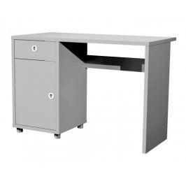 Box - stůl, 1x dveře, 1x šuplík (šedá)