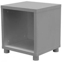 Box - regál jednoduchý (chladná šedá)
