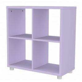 Box - regál 2x2 (lila)