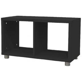 Box - regál 1x2 (černá)