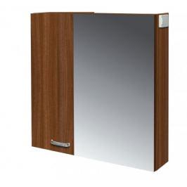 Melbourne - Zrcadlová skříňka, zrcadlo vpravo (ořech/ořech)