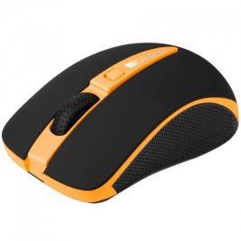 Canyon CNS-CMSW6 optická bezdrátová myš, oranžová