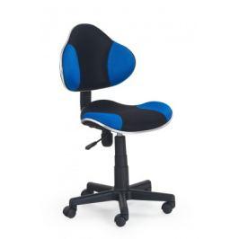 Flash - dětská židle (modro-černá)