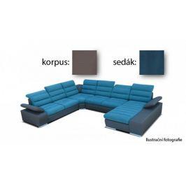 Korfu - pravý roh, 2+2+relax (togo 5 / novara 245)
