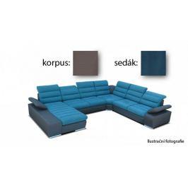 Korfu - levý roh, 2+2+relax (togo 5 / novara 245)