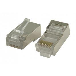 Konektory RJ45 pro STP CAT5 kab.sdrát.vodiči 10 ks