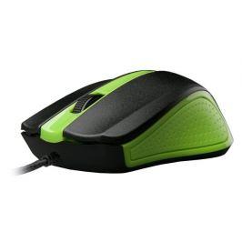 Myš C-TECH WM-01, zelená, USB