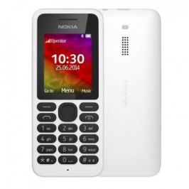 Nokia 130 Single SIM White