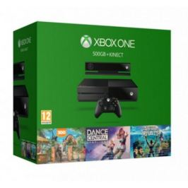 XBOX ONE 500GB Kinect+Dance CS+Sport Rivals + Zoo