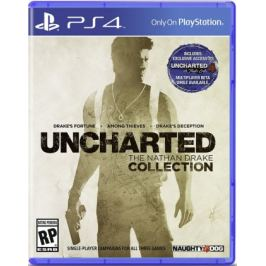 PS4 - Uncharted : The Nathan Drake Collection CZ