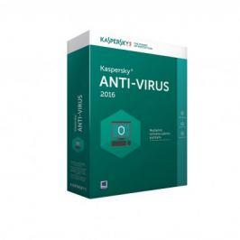 Kaspersky Antivirus 2016 4 lic. 1 rok (KL1167OBDFS-MCZ)