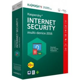 Kaspersky Internet Security 2016 CZ/1 rok (KL1941OBDFS-6MCZ)