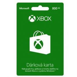 Microsoft Xbox Live Dárková karta v hodnotě 800Kč (K4W-03077)