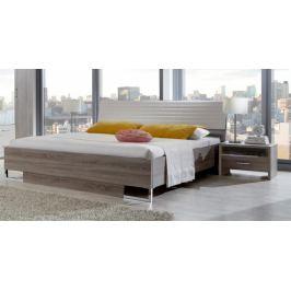 Corfu - Komplet, postel 180cm (dub montana, alpská bílá)