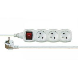 Prodlužovací kabel 2m 3 zásuvky vypínač