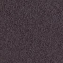 Enjoy - Taburet, kůže, kovové nohy (naturelle D 11211 aubergine)