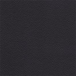 Enjoy - Taburet, kůže, kovové nohy (naturelle D 11011 black)