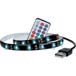 Solight LED RGB pásek pro TV,100cm,USB,dálkový ovladač,WM503