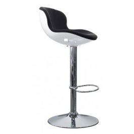 Tequila - Barová židle (bílá, eko kůže černá, bílá)