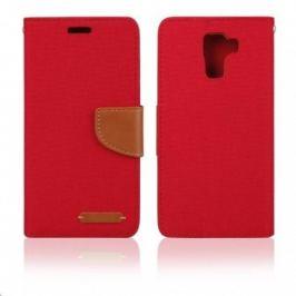 Aligator pouzdro BOOK FANCY pro Samsung Galaxy J1, červená PBOFAJ