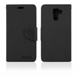 Aligator pouzdro BOOK FANCY pro Samsung Galaxy J5, černá PBOFAJ5B