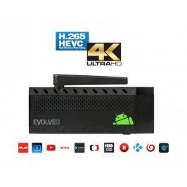 EVOLVEO Android Stick Q3 4K, Quad Core Smart TV stick, 4K video