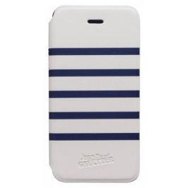 Bigben Folio pro IPHONE 5/5s Marine,bíla/modrá