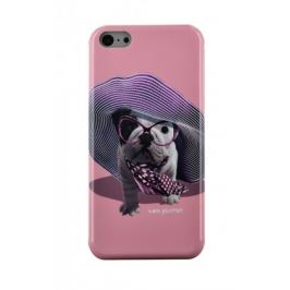 Bigben Kryt pro IPHONE 5/5c/5s Teo Croisette,růžová