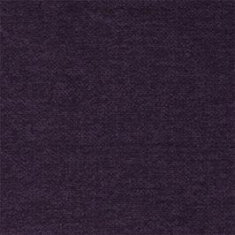 Toulouse - roh levý (emotion miro aubergine/kovové nohy)
