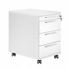 Work - Kontejner, 4x zásuvka (bílá)