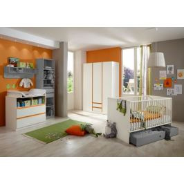 Bibi - Set 2 (alpská bílá, oranžová)
