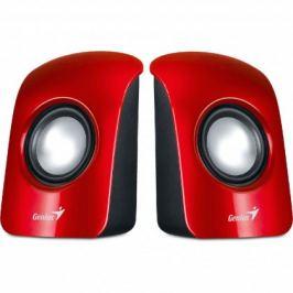 GENIUS repro SP-U115, přenosné repro, USB napájení, červené