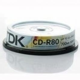 TDK CD-R 700MB 52x, 10ks