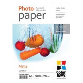 Colorway fotopapír matte 190g/m2, A3+/50 kusů (PM190050A3+)