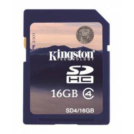 Kingston SDHC 16GB Class 4 - SD4/16GB