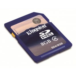 Kingston SDHC 8GB Class 4 - SD4/8GB