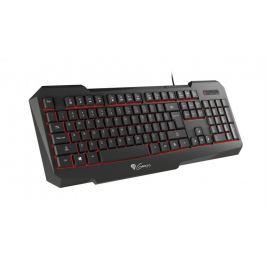 Natec herní klávesnice Genesis RX11, US, podsvícení
