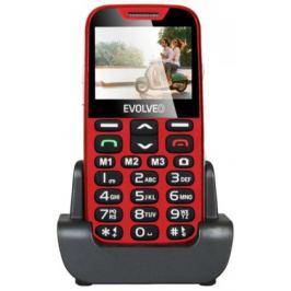 EVOLVEO EasyPhone XD, mobilní telefon pro seniory, červený