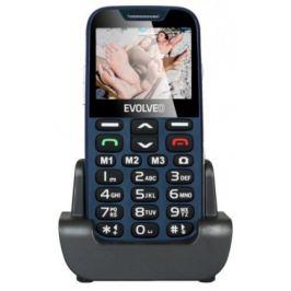 EVOLVEO EasyPhone XD, mobilní telefon pro seniory, modrý