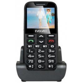 EVOLVEO EasyPhone XD, mobilní telefon pro seniory, černý