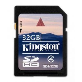 Kingston SDHC 32GB Class 4 - SD4/32GB
