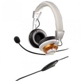 Hama PC Headset HS-320 OTÍK, bílá