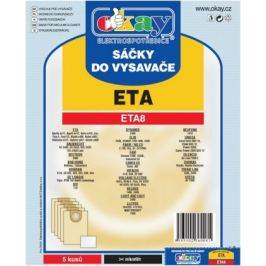 Sáčky do vysavače ETA8 10ks
