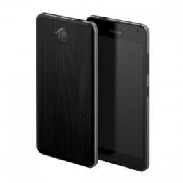 MOZO zadní kryt pro Lumia 650 imitace tmavého dřeva