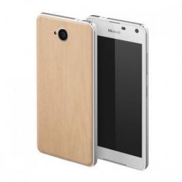 MOZO zadní kryt pro Lumia 650 imitace světlého dřeva Pouzdra a kryty