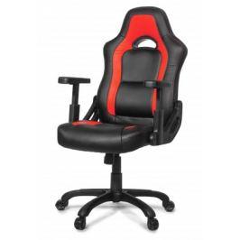 AROZZI herní židle MUGELLO/ černočervená