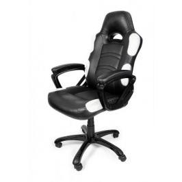 AROZZI herní židle ENZO/ černobílá