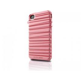 Musubo  Rubber Band gelskin pro iPhone 4/4S, růžová