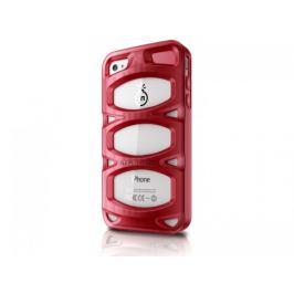 Musubo Double X gelskin pro iPhone 4/4S, červená