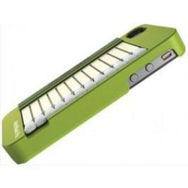 Musubo MatchBook gelskin pro iPhone 4/4S, olivově zelená